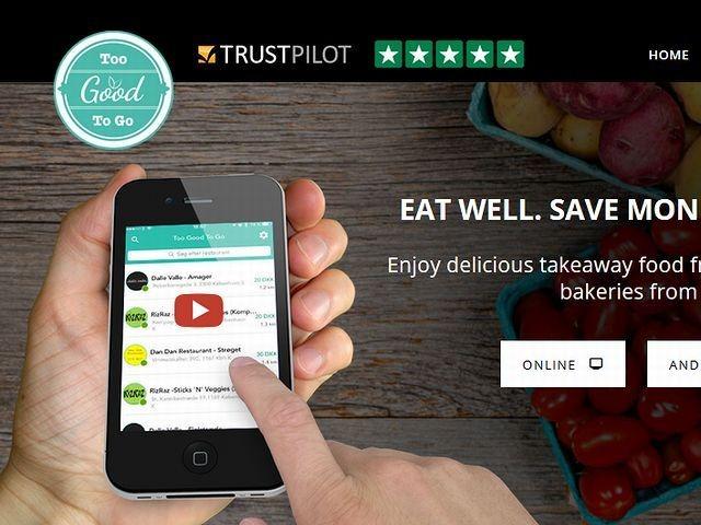レストランと消費者をつなぐマッチングアプリ too good to go が食品