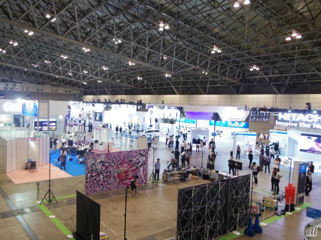CEATEC JAPAN 2016会場内