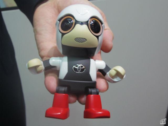 トヨタ自動車のパートナーロボット「KIROBO mini」
