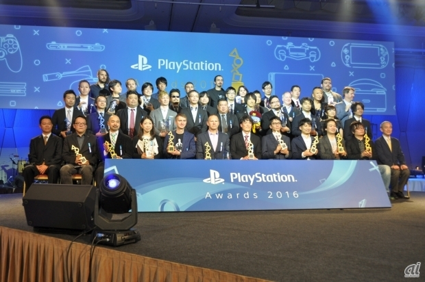「PlayStation Awards 2016」の受賞者