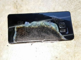 「Galaxy Note7」爆発の原因はバッテリと報道--公式発表は23日