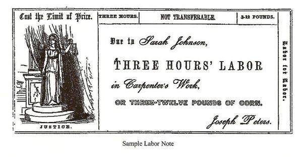 「労働紙幣」