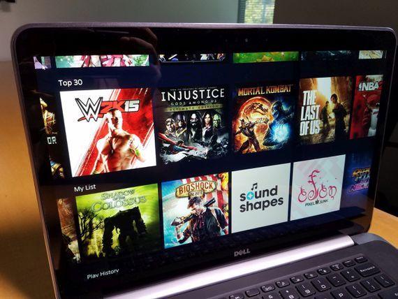 ソニーのゲームストリーミングサービス「PlayStation Now」
