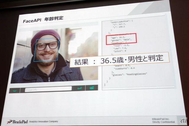 Face APIでは顔写真から年齢と性別を精度高く認識できる