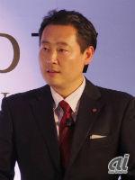 LGエレクトロニクスジャパンマーケティングチーム部長の金東建氏