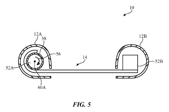 アップル、巻物のようにクルクル丸まるタブレット特許が成立