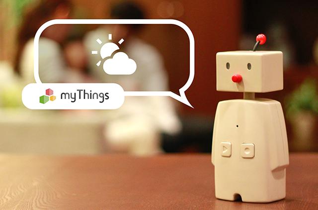 コミュニケーションロボット「BOCCO」から天気や防災情報を話す機能