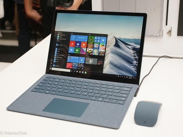 マイクロソフト surface laptop 発表 windows 10 s 搭載 999