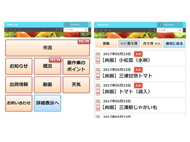 サイボウズ、三浦市農協と「農業IT化」を推進--出荷物を自動で振り分け - CNET Japan