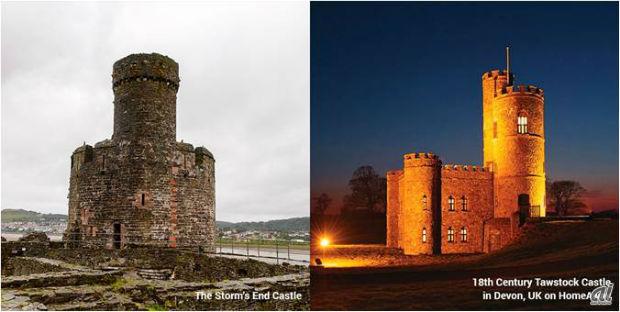 強力な呪文で守られていた「ストームズエンド城」がある