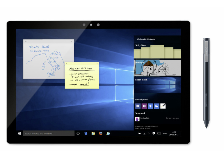 「Windows Ink」の利用に適した「Bamboo Ink」