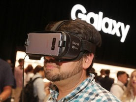 「Galaxy Note8」、「Gear VR」の既存モデルで使用できず--新型で対応