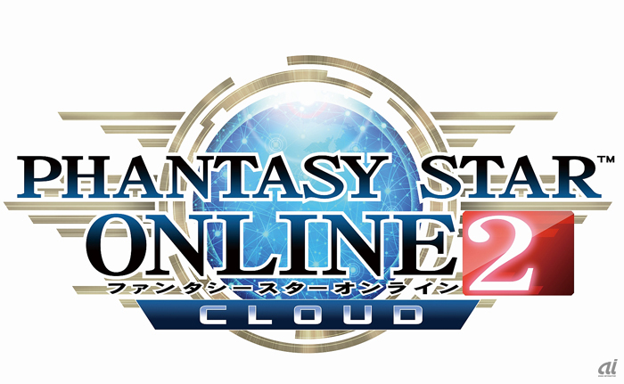 「ファンタシースターオンライン2 クラウド」ロゴ