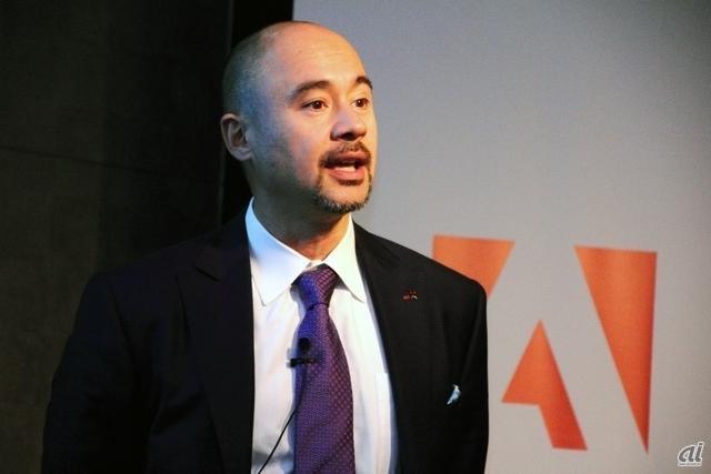 アドビシステムズ日本法人の代表取締役社長である佐分利ユージン氏