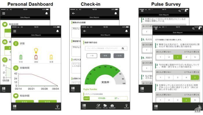 スマートフォンアプリ(イメージ)