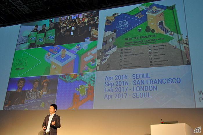 プレス向けイベント「Go Global」より。<br>これまでも韓国を始め、米国や欧州地域で開催。<br>日本での開催は初めてとしている。<br>
