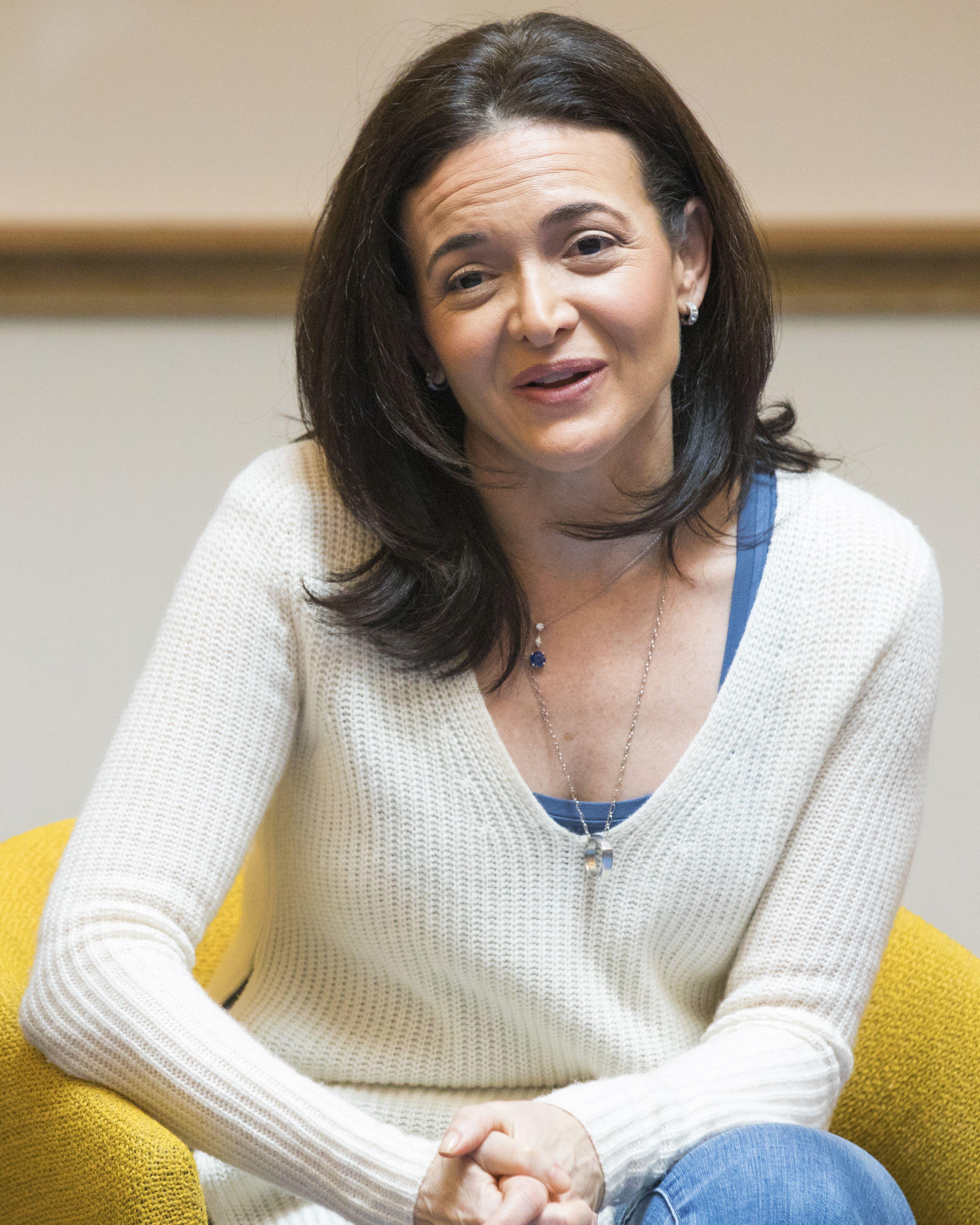 FacebookのCOO、Sheryl Sandberg氏