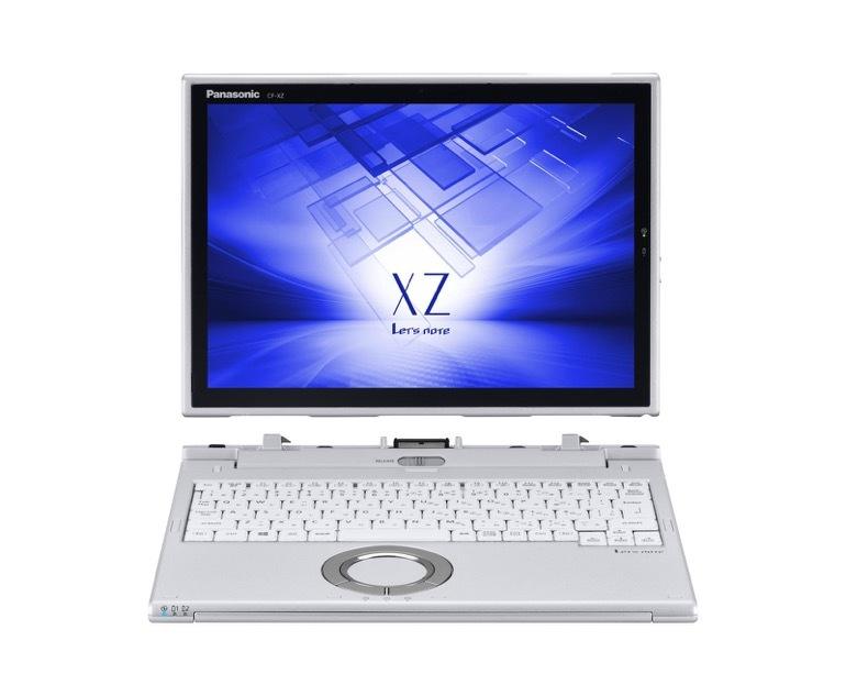 12.0型(QHD)液晶を搭載する着脱式の2in1タブレットモバイルPC「XZ6シリーズ」