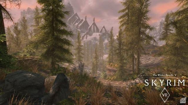 「The Elder Scrolls V: Skyrim VR」スクリーンショット
