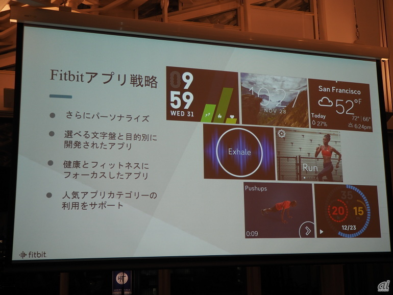 Fitbitアプリ戦略