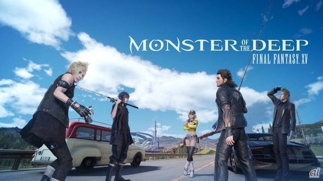 「MONSTER OF THE DEEP: FINAL FANTASY XV」スクリーンショット