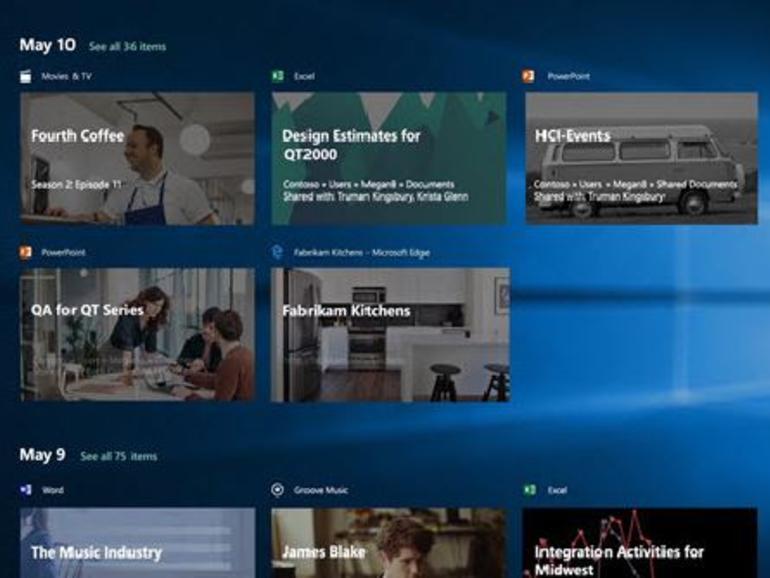 windows 10 テストビルドに新機能 timeline sets が近く登場へ