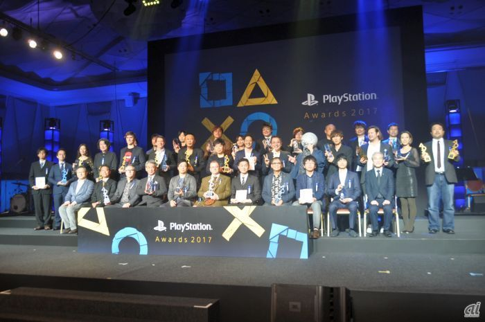 「PlayStation Awards 2017」受賞者