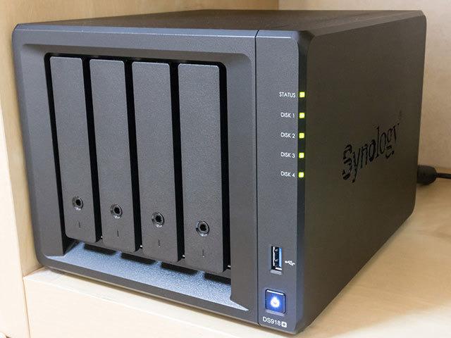 ファイル共有だけじゃない--ビジネスシーンでSynology「DS918+」が注目される理由