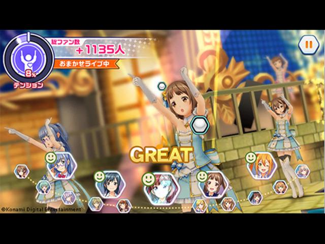 KONAMI、モバイルVR対応スマホゲーム新作「ときめきアイドル」の配信を開始