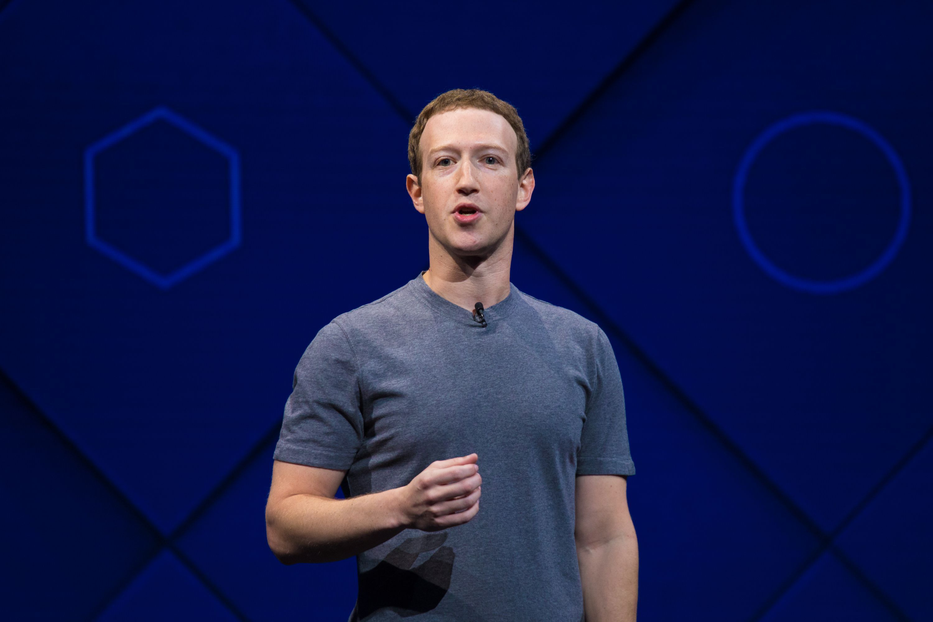 FacebookのCEO、Mark Zuckerberg氏
