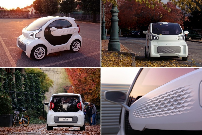 「3Dプリンタ製の電気自動車「LSEV」」の画像検索結果
