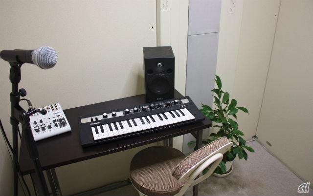 防音室タイプの音楽室(イメージ)