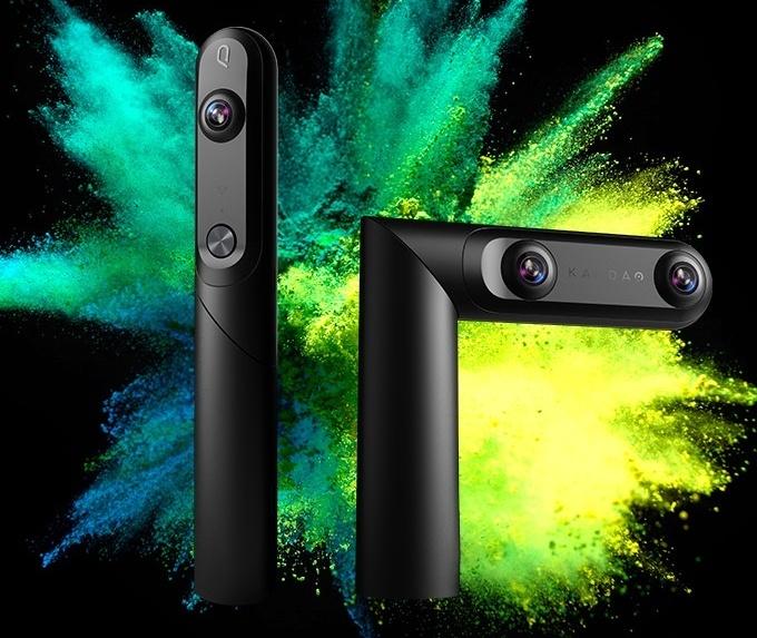 1台でVR用3D映像と360度全球映像...