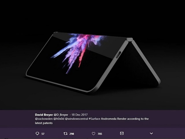 マイクロソフト、ポケットサイズの2画面「Surface」を開発中?--新たに画像など流出か