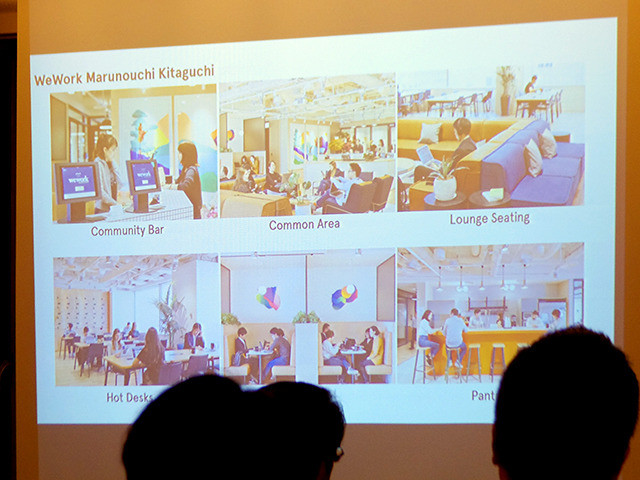 WeWork、大胆なコラボも生まれるシェアオフィス--秘密は緻密な動線作り