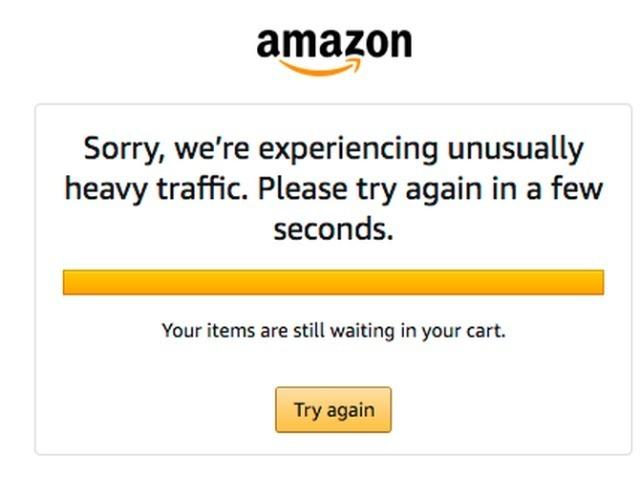 アマゾン「プライムデー」、開始早々にシステム障害