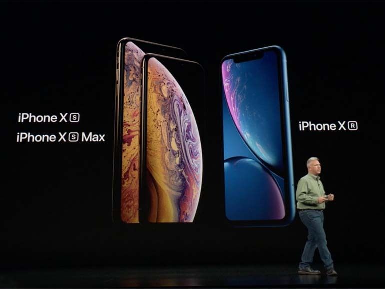 「iPhone XS」シリーズと「iPhone XR」
