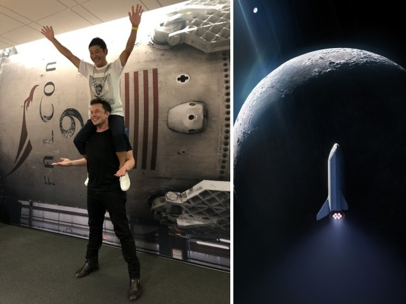 「ZOZOTOWN」の前澤友作氏、月旅行をする世界初の民間人に--SpaceXが2023年打ち上げ