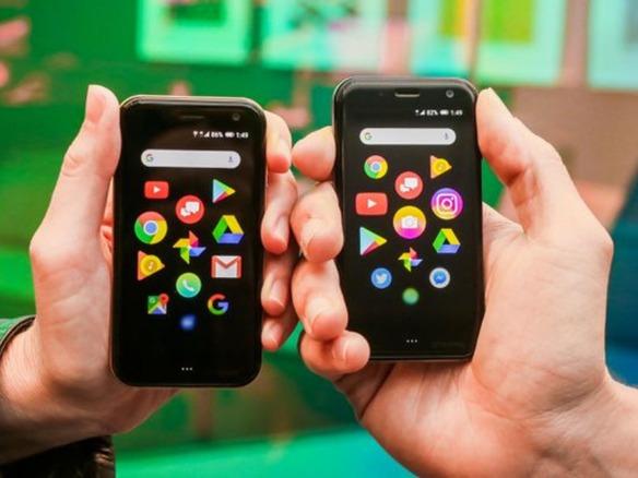 手のひらサイズのAndroid端末「Palm」が登場--大画面スマホのお供に ...