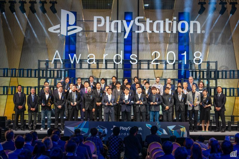 PS Awards 2018受賞者