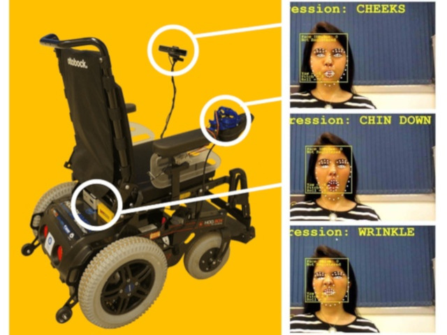 Wheelie will move you based on your facial expressions