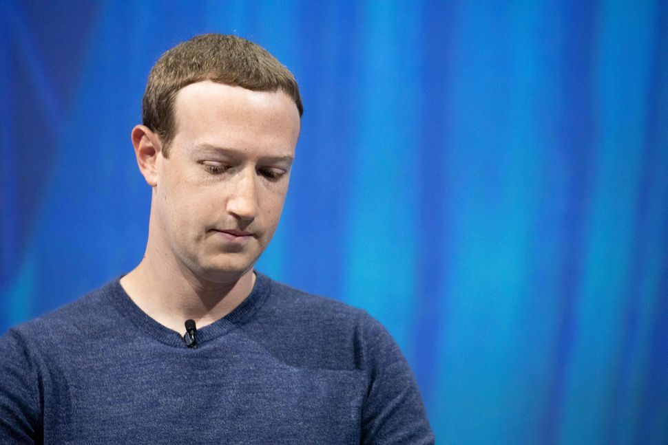 FacebookのCEO、Mark Zuckerberg氏 Christophe Morin/Getty Images