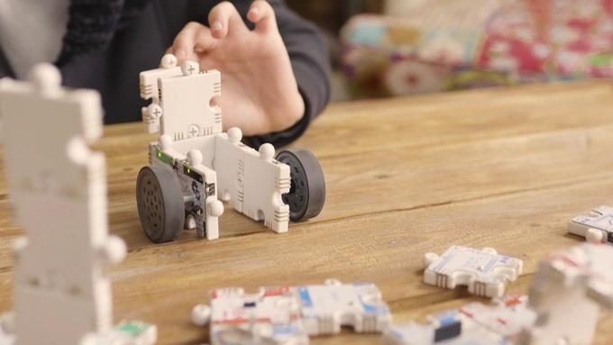 您无需编程即可移动机器人(来源:Kickstarter)
