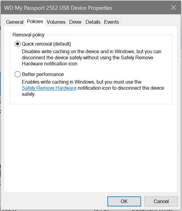 【Windows】「Windows 10」、USBなど取り外しポリシーのデフォルトが「安全な取り外し」から「クイック削除」に