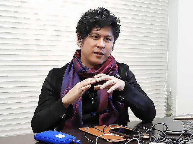 有限会社ゑびやの代表取締役社長の小田島春樹氏。テクノロジーおたくではあるがAIに出会うまで新しい技術には全くのれなかったと自己分析する。