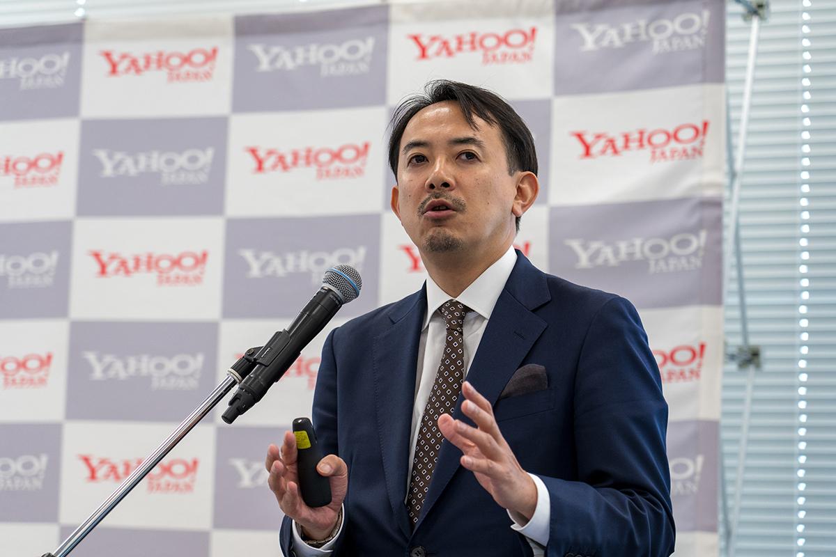 雅虎日本总裁兼首席执行官Kentaw Kawashima先生