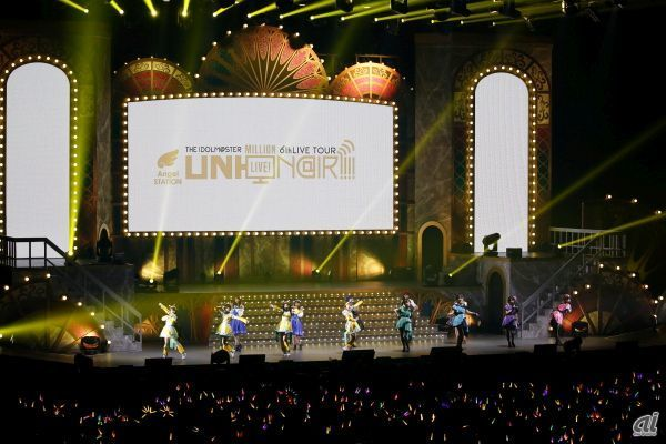「THE IDOLM@STER MILLION LIVE! 6thLIVE TOUR UNI-ON@IR!!!!」仙台公演(28日)の様子