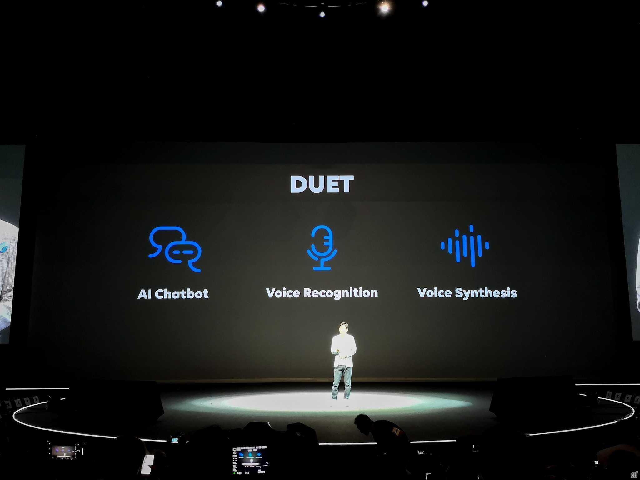 LINE、人と会話できる音声AIプラットフォーム「DUET」発表--カスタマー ...