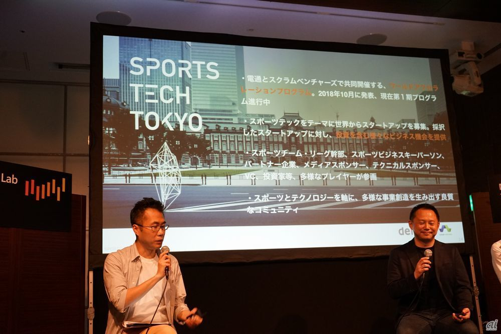 SPORTS TECH TOKYOの概況説明