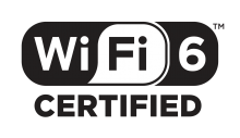 Wi-Fi CERTIFIED 6のバッジ